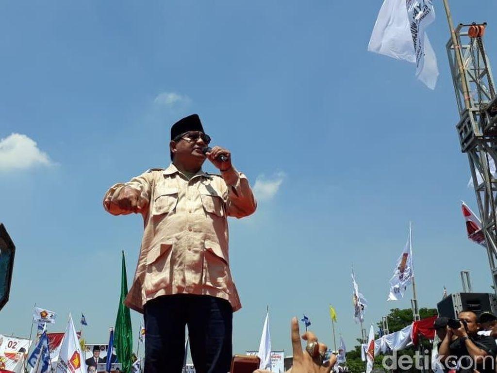 Kontroversi Lebaran ala Prabowo di TPS