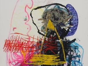 Seniman Iabadiou Piko Mejeng Karya di Art Central Hong Kong