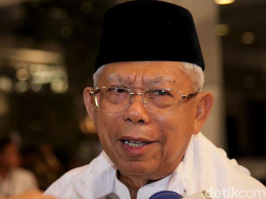 Dipersilakan Hadiri Kampanye Prabowo di GBK, Maruf Menolak
