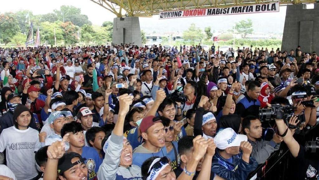 Bobotoh Ngahiji, Bandung Satu Tekad Dukung Jokowi
