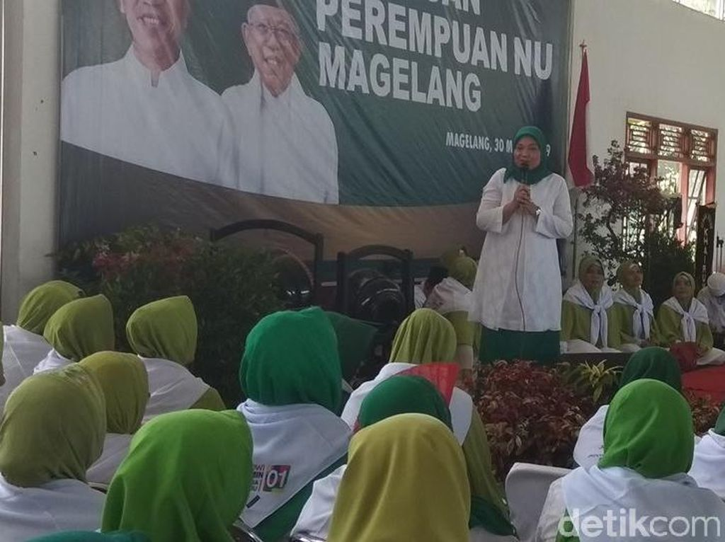 TKN Akui Pemilih Perempuan untuk Jokowi Masih di Bawah Target