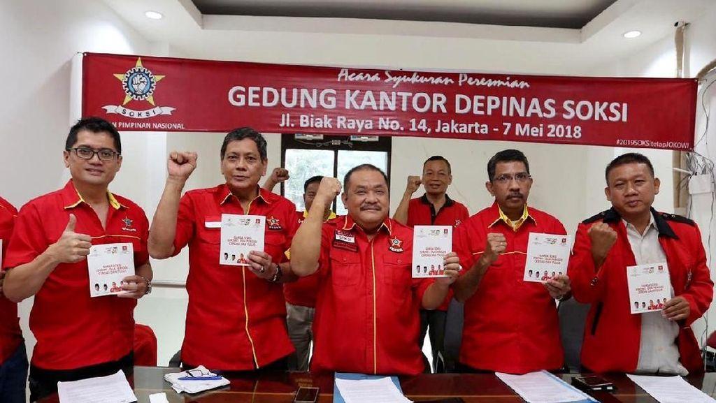 Garda Soksi Mantap Menangkan Jokowi Dua Periode