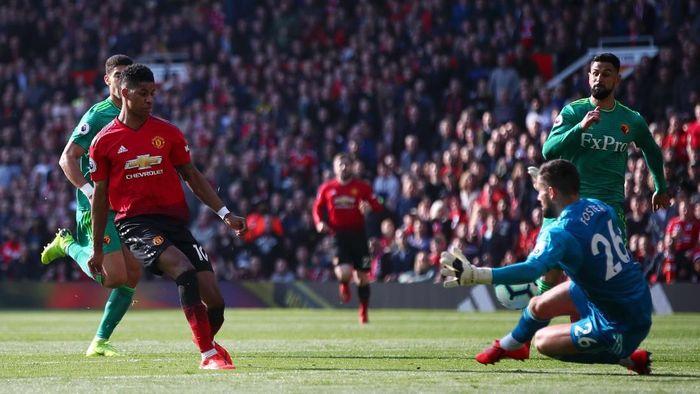 Striker muda Manchester United, Marcus Rashford. (Foto: Clive Brunskill/Getty Images)