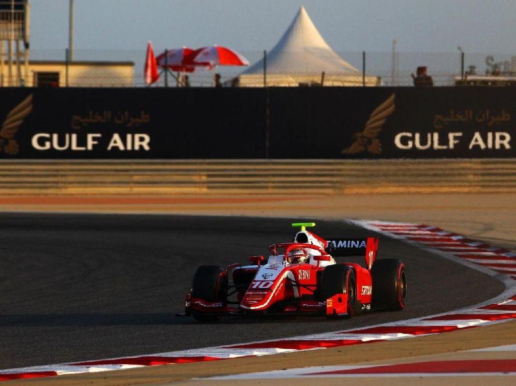 Sean Gelael Start Ketujuh di F2 Bahrain