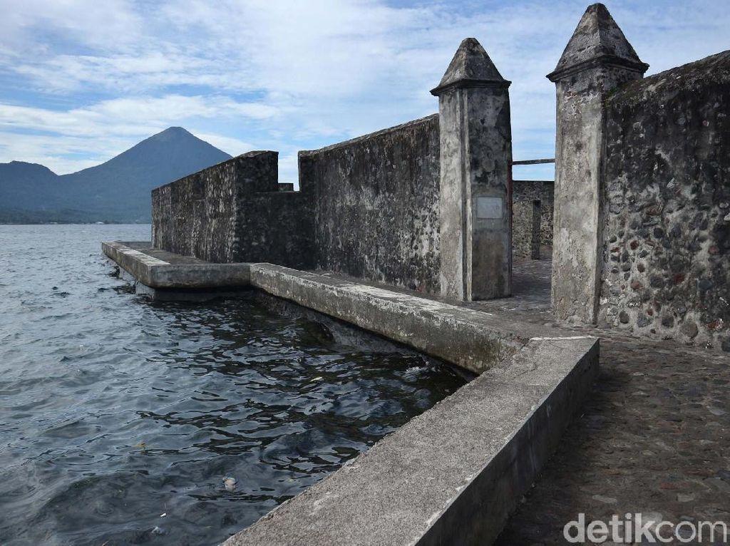 Potret Benteng Kalamata Saksi Bisu Kejayaan Maluku di Masa Lalu