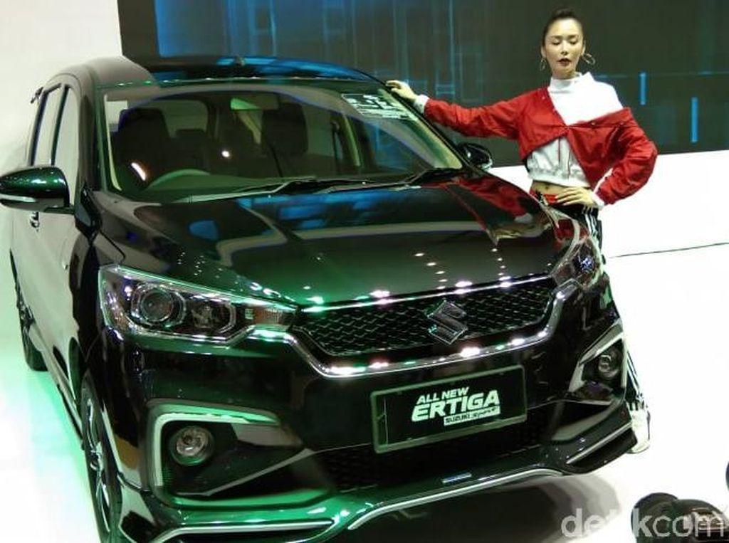 Suzuki Ertiga Sport Melejit Sampai 40 Persen dari Target Awal