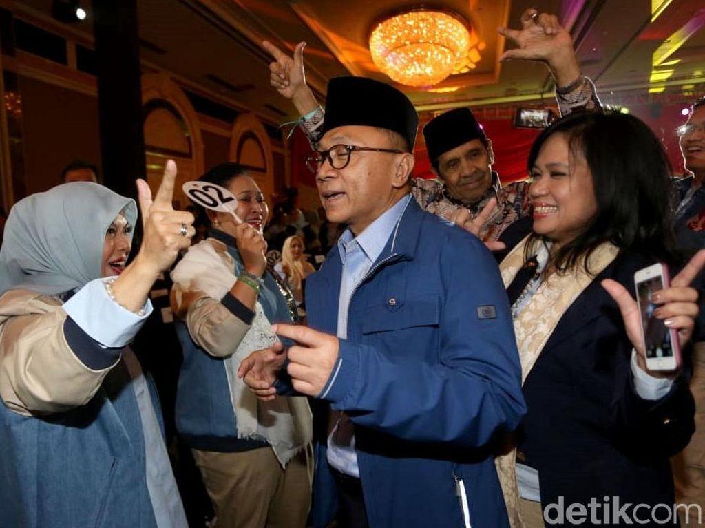 Titiek Soeharto Hingga Nur Asia Uno Beri Dukungan ke Prabowo