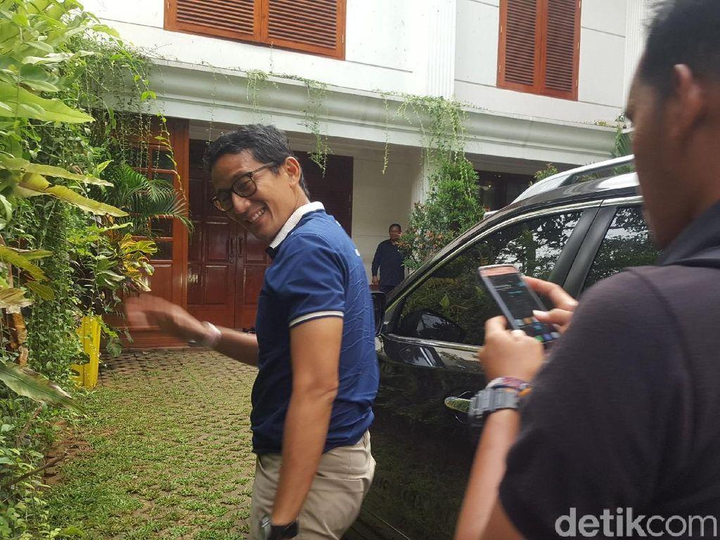Sandi Saat Prabowo Marahi Penonton: Itu Bukan Bahan Tertawaan!