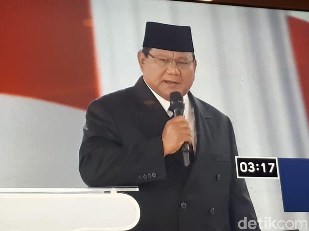 Prabowo: Percuma Pakai Teknologi Tapi Kekayaan Lari ke Luar