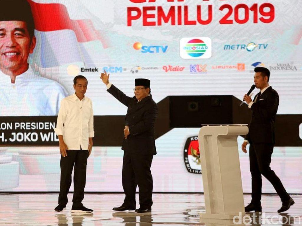 Data KawalPemilu 63,6%: Jokowi Unggul 10,1 Juta Suara dari Prabowo