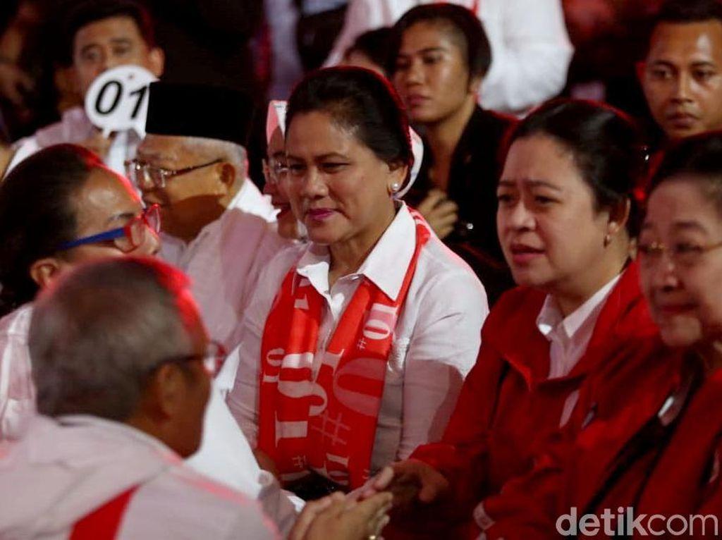 Iriana Jokowi-Megawati Masuk Daftar Capres Perempuan Versi ARSC