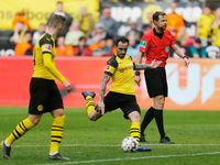 Dua Gol Alcacer di Injury Time Menangkan Dortmund atas Wolfsburg