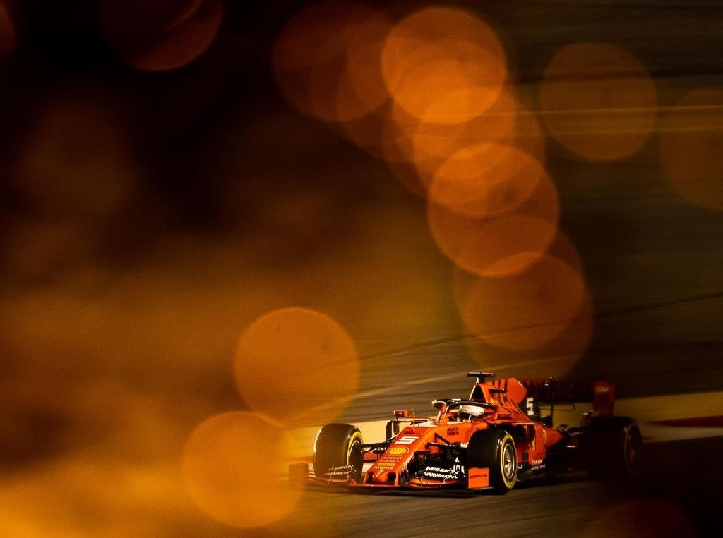 Giliran Vettel Tercepat, Ferrari Masih Perkasa