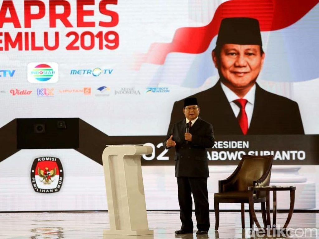 Jokowi Singgung Rebut Freeport, Prabowo: Etok-etok