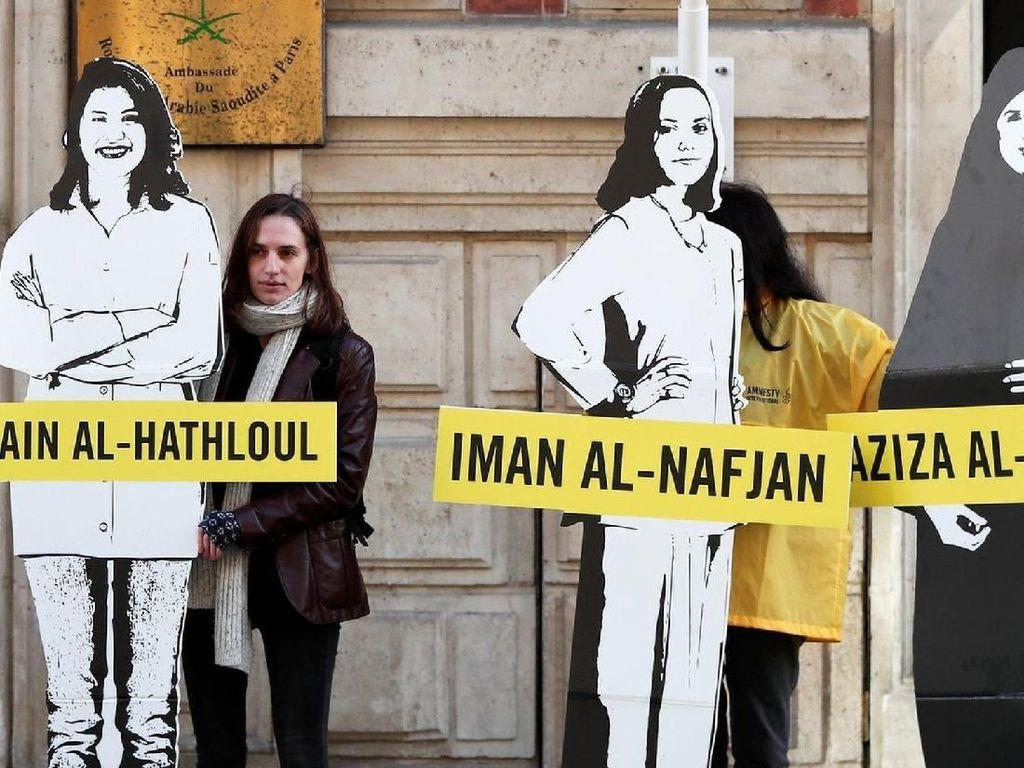 Dituduh Menghina Islam, 3 Aktivis Wanita Saudi Dibebaskan Sementara