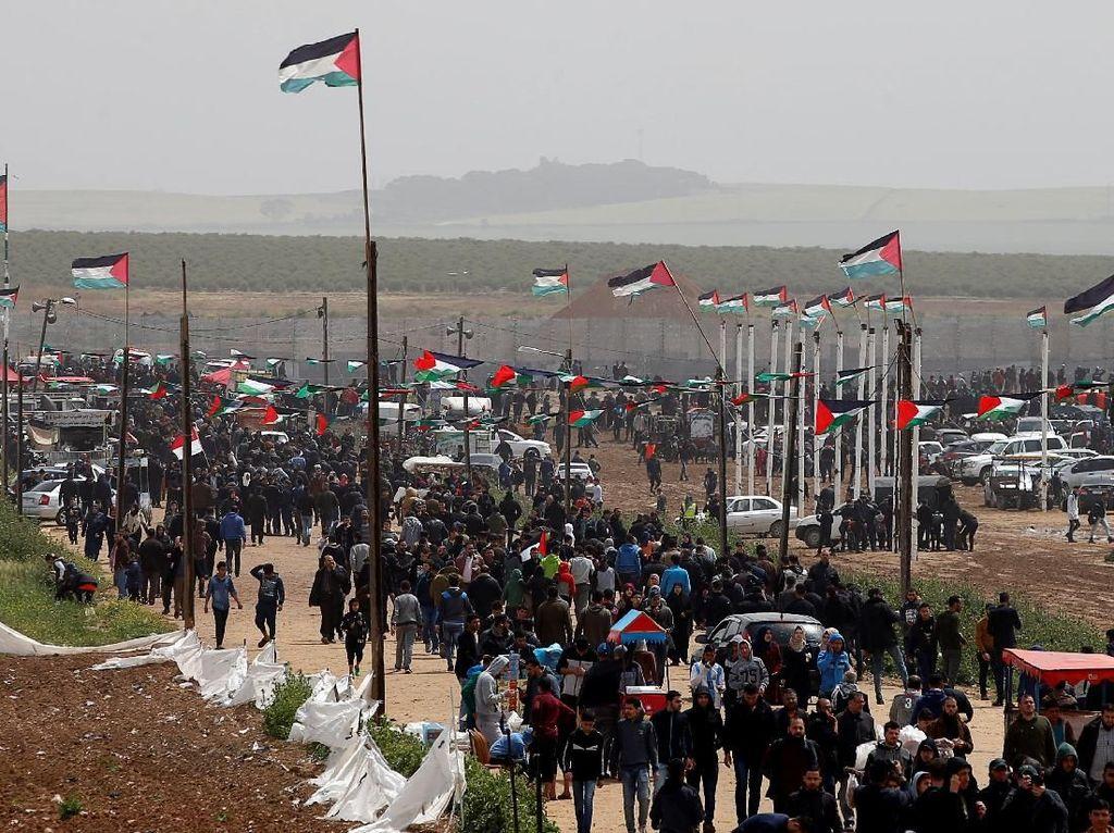 4 Warga Palestina Tewas dalam Aksi Militer Israel di Gaza