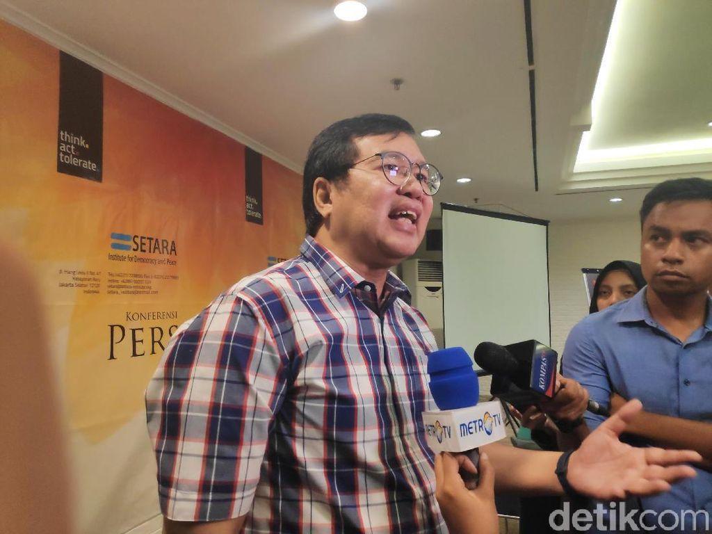 Setara Institute: Ada Tren Positif Jokowi Cegah Politik Identitas