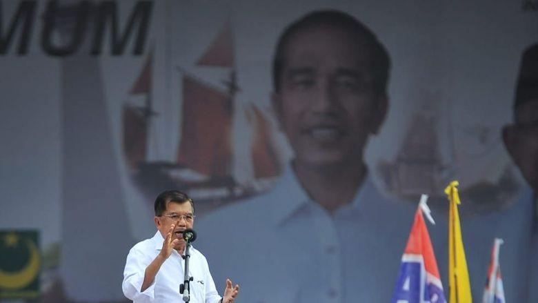 JK: Ada yang Marah-marah di TV, Itu Pasti Bukan Jokowi