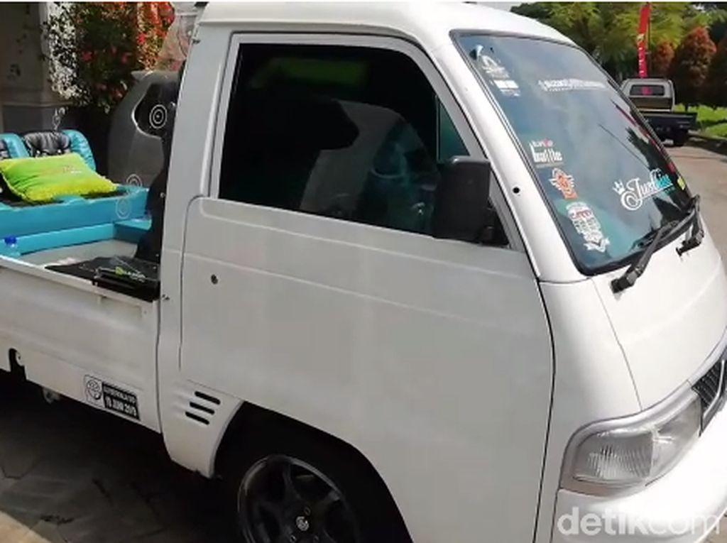 Mobil Pengangkut Sayur Dimodifikasi
