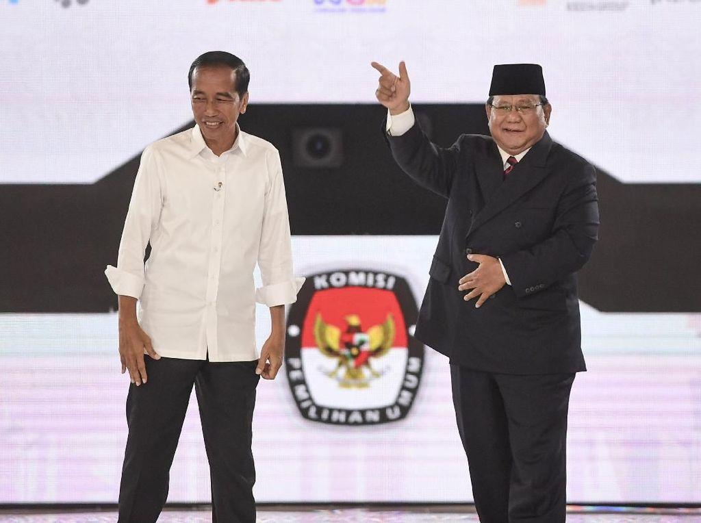 Mengintip Amunisi Jokowi dan Prabowo untuk Debat Terakhir