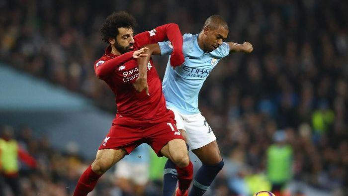 Manchester City dan Liverpool bersaing untuk gelar Liga Inggris hingga pekan terakhir. (Foto: Clive Brunskill/Getty Images)