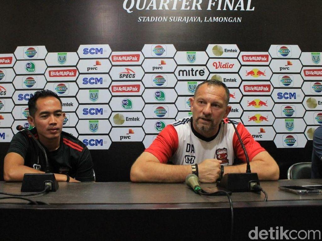 Hadapi Persela, Dejan Antonic Ingatkan Madura United soal Detail-Detail Kecil