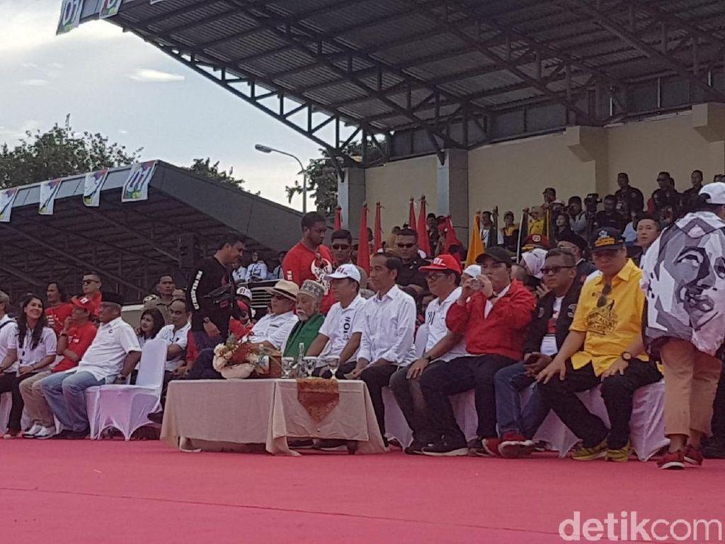 Wahidin Halim Hadiri Kampanye Jokowi, PD Banten: Kebijakan Pemecatan di DPP