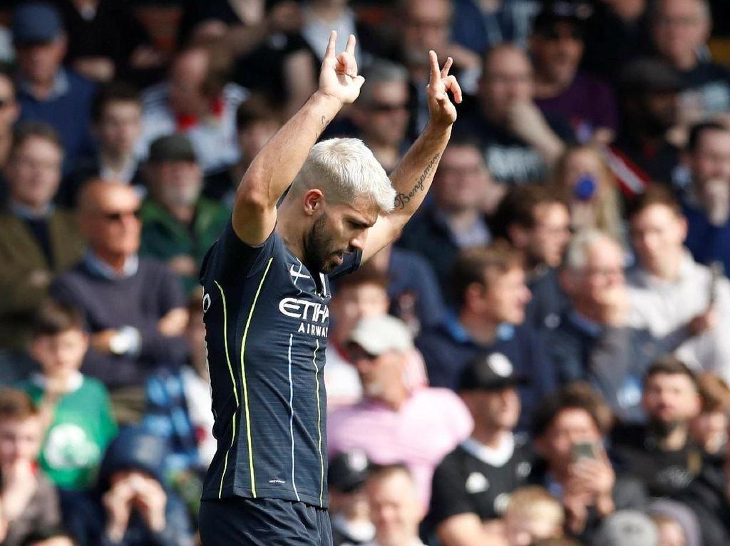 Man City Bersandar pada Aguero untuk Jinakkan Leicester