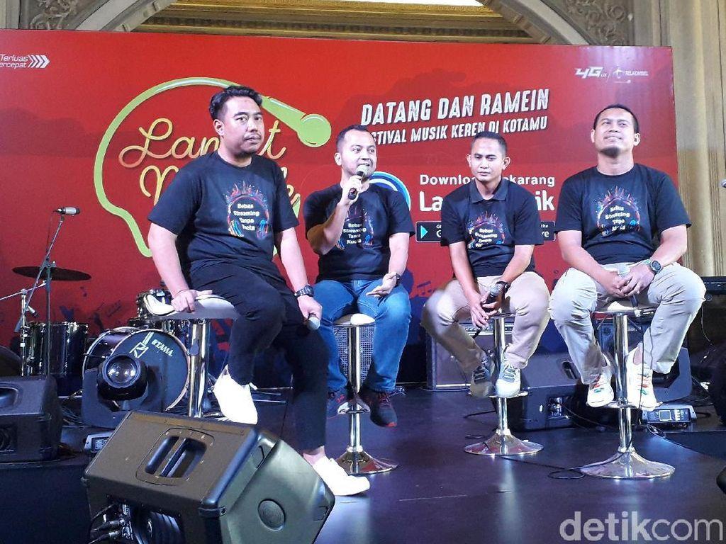 Promosikan Musik Indie di Era Digital, Langit Musik Sasar Karya Musisi Lokal