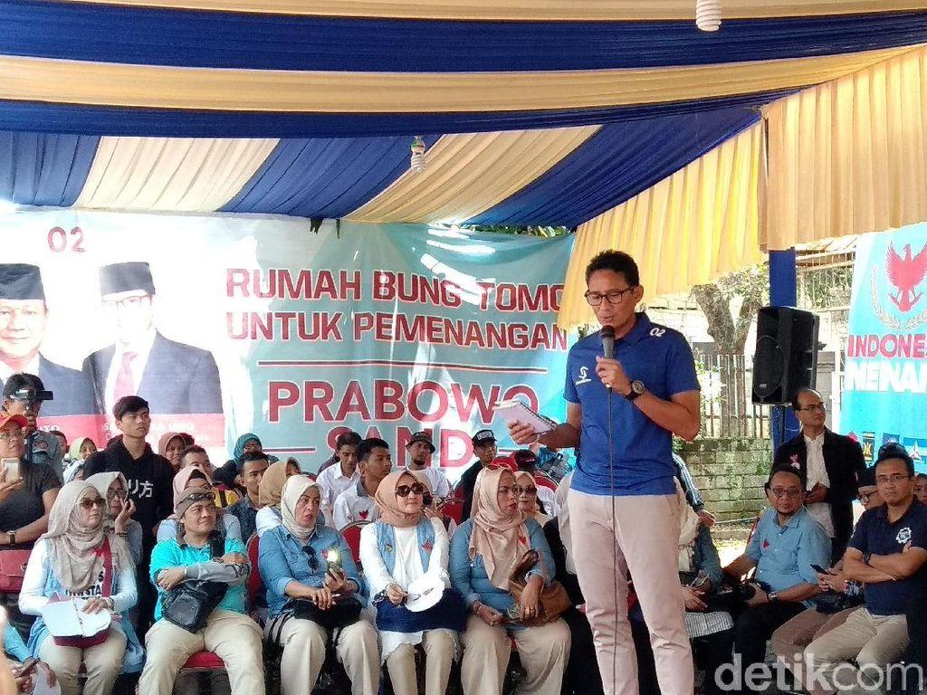 Keluarga Bung Tomo Donasikan Rumah untuk Pemenangan Prabowo-Sandi