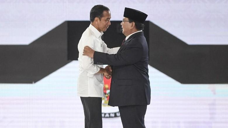 Charta Politika Prediksi Jokowi Menang Telak Dua Digit di Pilpres 2019