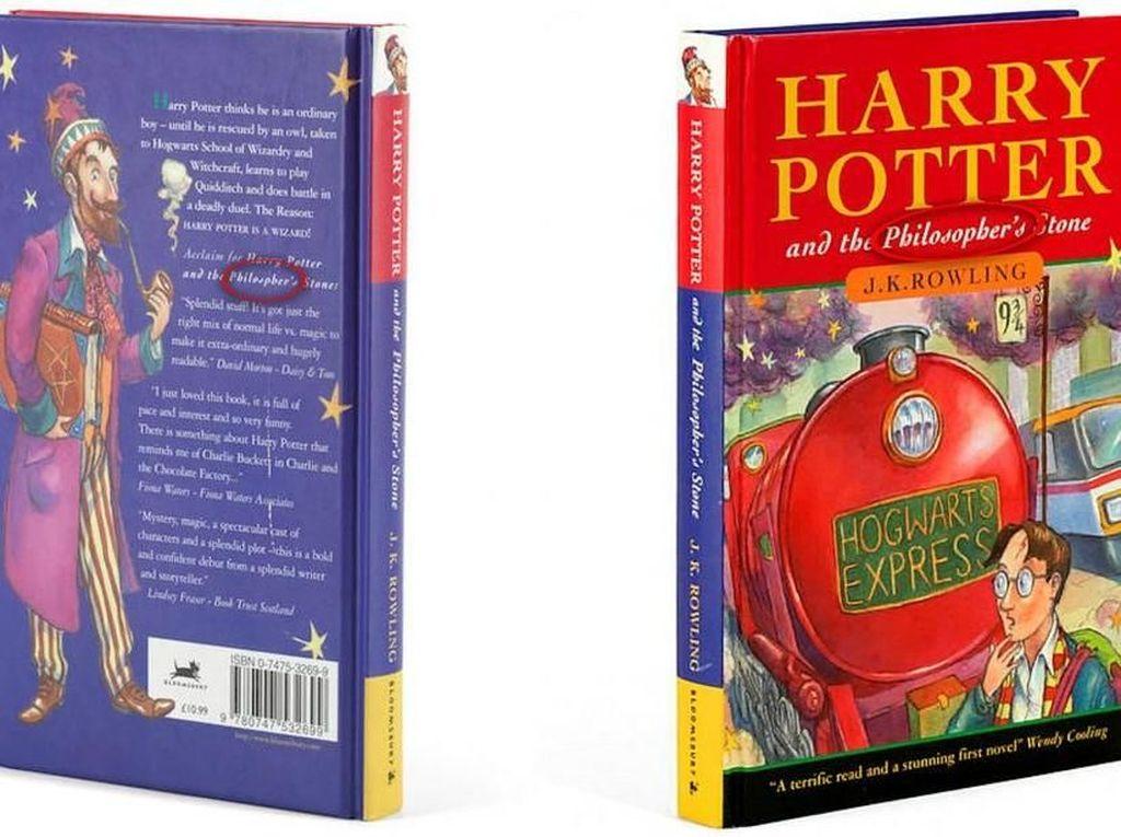 Buku Langka Harry Potter and the Sorcerers Stone Terjual Rp 480 Juta