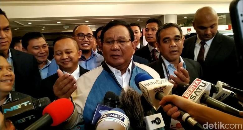 Prabowo: Bagaimana Bisa Khilafah Sambut Rocky Gerung Meriah