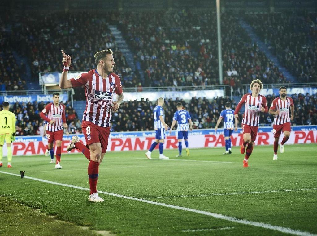 Hasil Liga Spanyol: Atletico Tundukkan Alaves 4-0