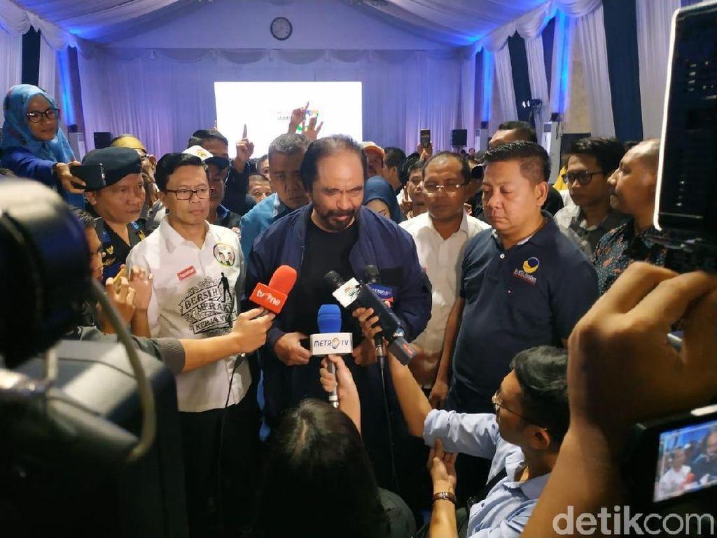 Soal Persahabatan Jokowi-Prabowo, Surya Paloh: Harus Tetap Terpupuk