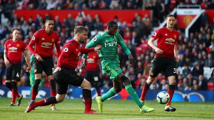 Manchester United menang 2-1 atas Watford. (Foto: Clive Brunskill/Getty Images)