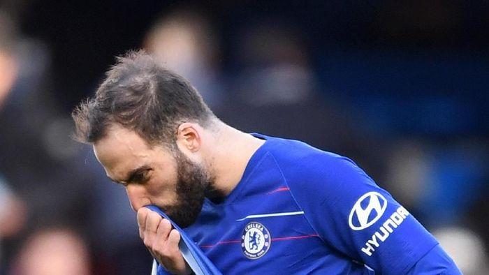 Chelsea berencana pulangkan Gonzalo Higuain ke Juventus (Laurence Griffiths/Getty Images)