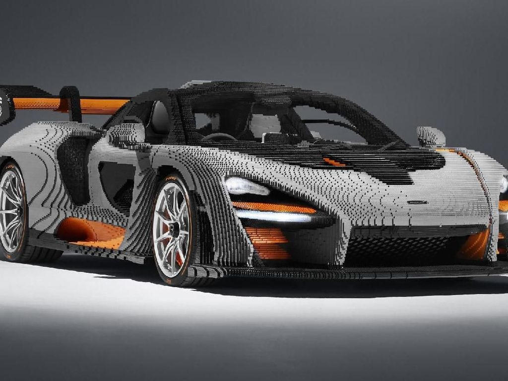 Jangan Tertipu! McLaren Ini Cuma Terbuat dari Tumpukan Lego