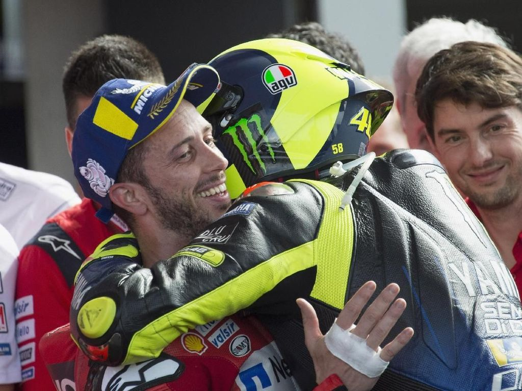 Dovizioso Rehat dari MotoGP, Apa Kata Valentino Rossi?