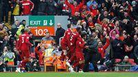 Kalahkan Tottenham, Liverpool Samai Rekor Kandang City