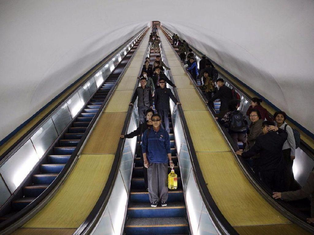 Potret MRT di Korea Utara, Sudah Ada Sejak 1970-an