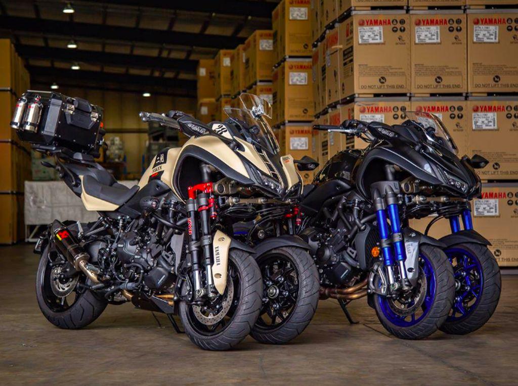 Yamaha Niken Makin Sangar dengan Turbo