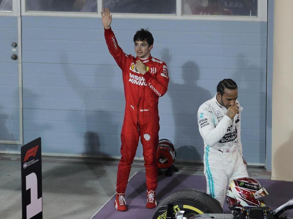 Hamilton: Leclerc Lebih Pantas Menang di Bahrain