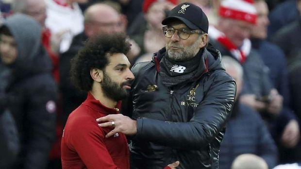 Juergen Klopp harus mengembalikan performa terbaik Mohamed Salah.