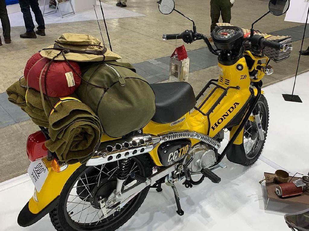 Motor Bebek Honda Ini Asyik Buat Diajak Mancing