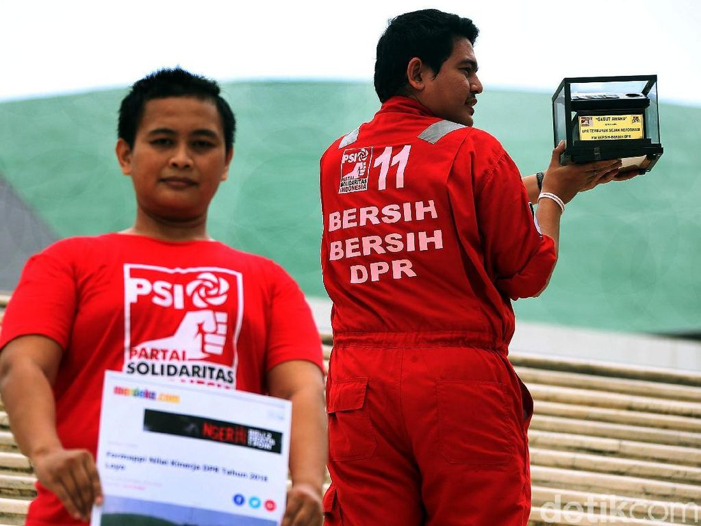 Sensasi Gabut Award untuk DPR