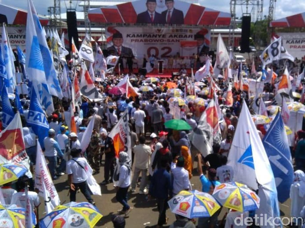 Orasi Politik Rustriningsih Buka Kampanye Prabowo di Kandang Banteng