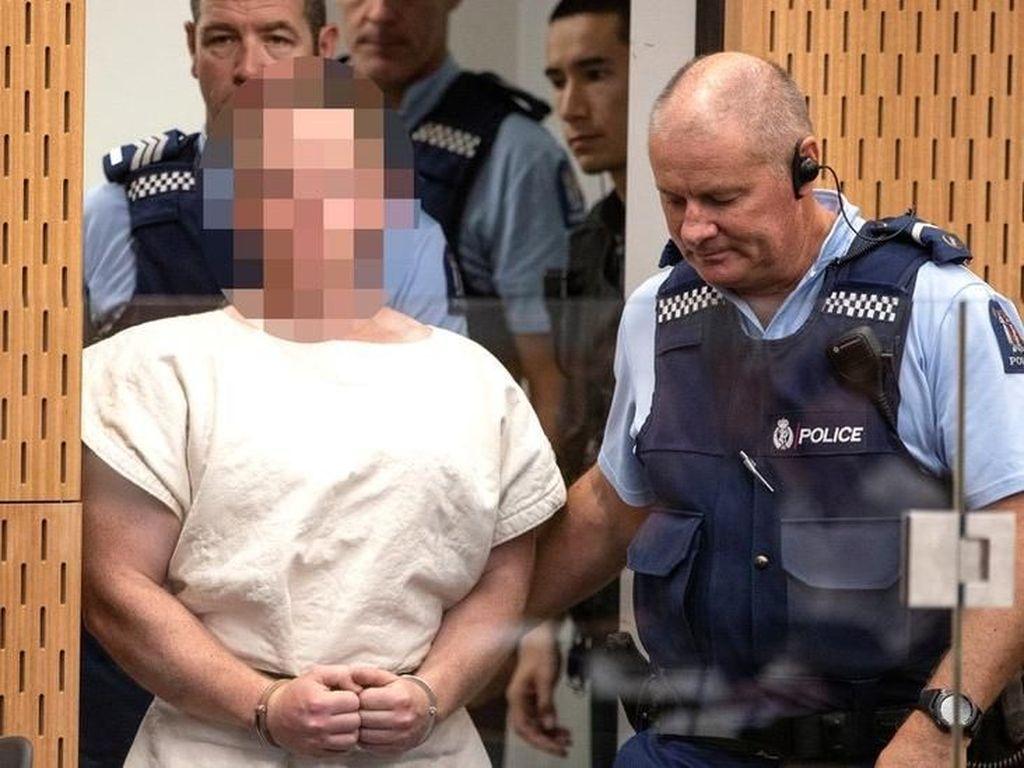 Pelaku Teror Selandia Baru Jalani Persidangan