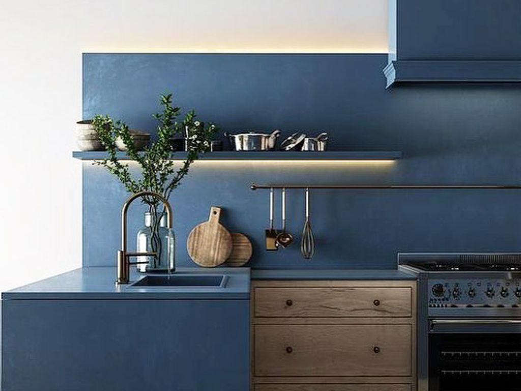 5 Warna Cat Tembok Dapur yang Bikin Bunda Semangat Masak