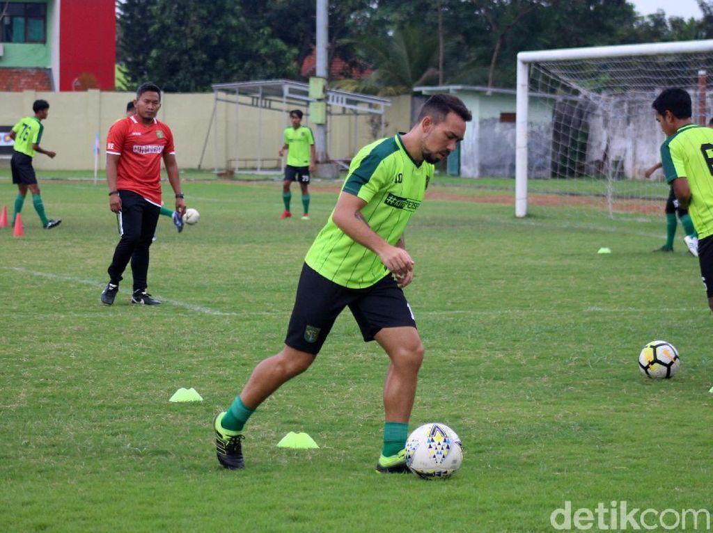 Persebaya Berlatih Keras Jelang Laga Lawan Madura United